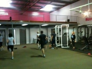 People exercising indoors at WellFit Personal Training in Newcastle